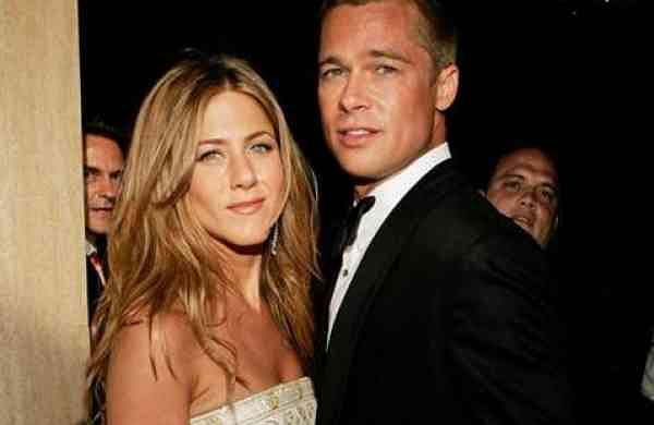 Brad Pitt and Jennifer Aniston (Photo: IANS)