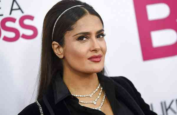 Salma Hayek (Photo by Evan Agostini/Invision/AP)