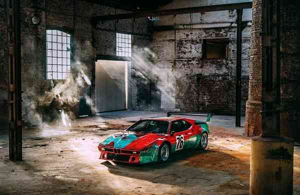 Andy Warhol's BMW Art Car, 1979 (Courtesy: BMW Group India)