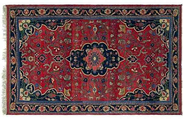 The Bidjar Rug at AstaGuru's textile auction