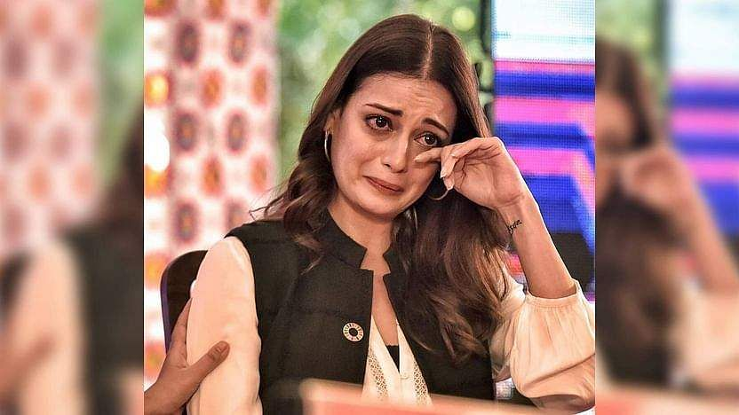 Dia Mirza breaks down at JLF while talking about climate change, gets trolled