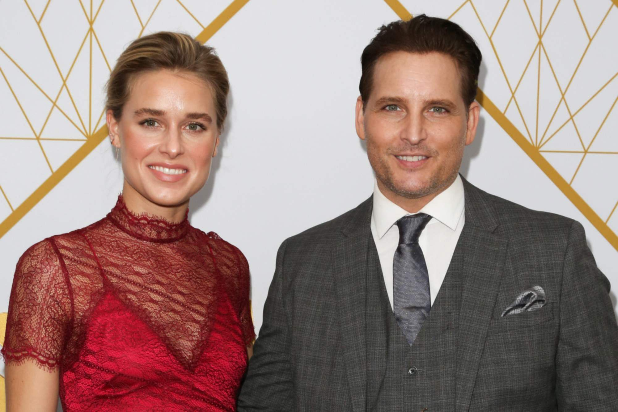 Peter Facinelli and Lily Anne Harrison (Source: Internet)