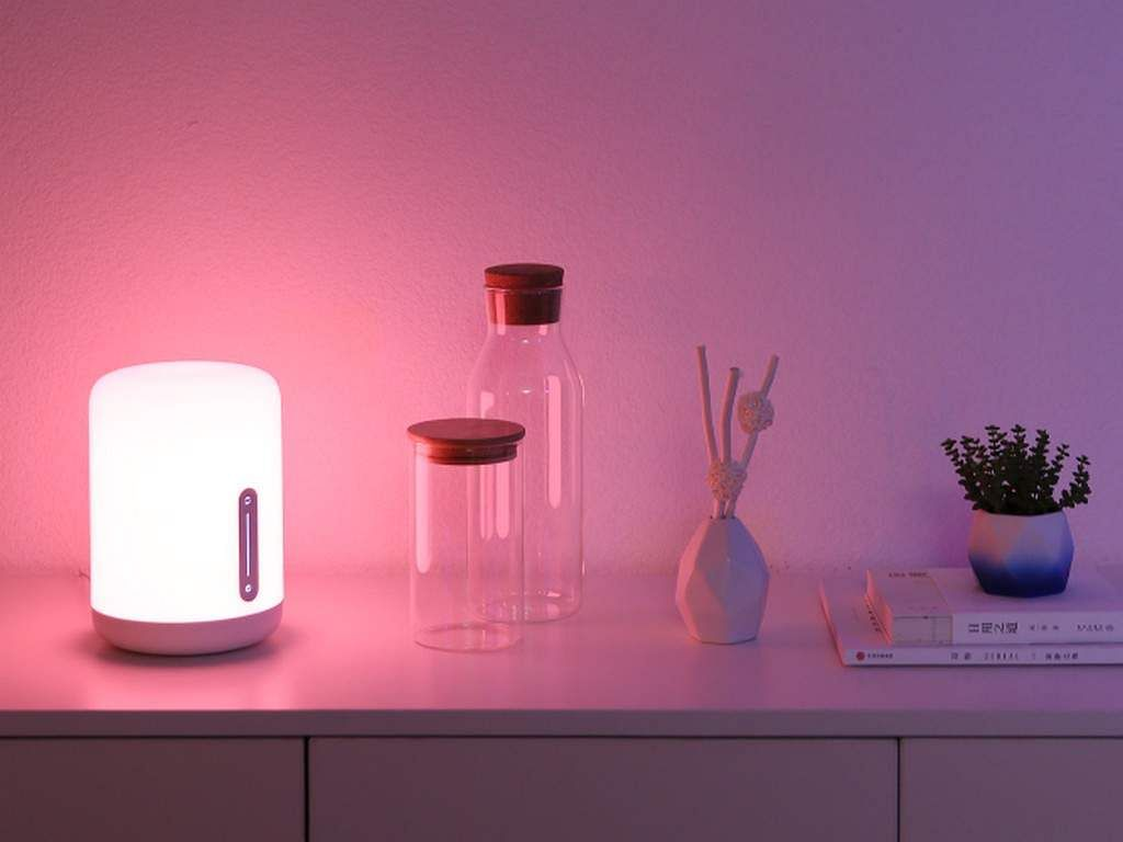 Mi Smart Lamp 2: A perfect bedside lamp to keep you lit with upto 400 lumens of light, and colour options running into millions. Controlled by an app, with voice control, works with Alexa. INR 2,499.