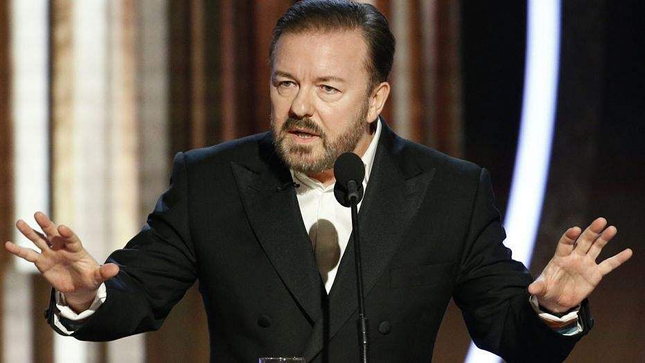 After roasting 'woke' Hollywood at the Globes, Ricky Gervais says he will never play host again