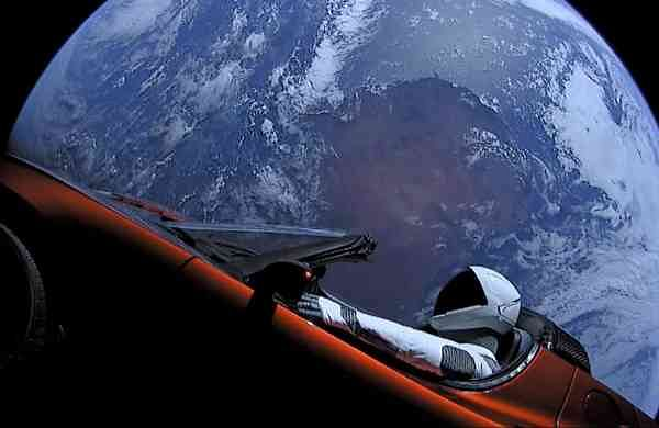 Musk's Falcon Heavy and its 'Starman' driver flew past Mars - Indulgexpress