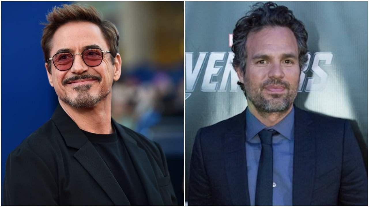 Robert Downey Jr and Mark Ruffalo