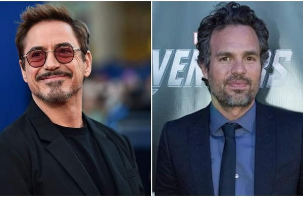 Robert Downey Jr and Mark Ruffalo