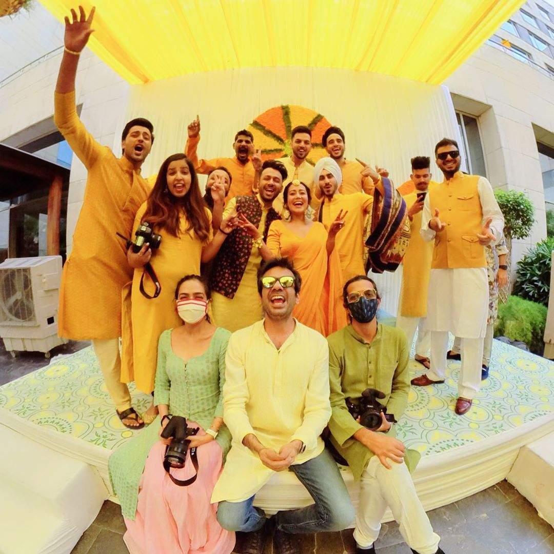Neha Kakkar's and Rohanpreet Singh's Haldi 14