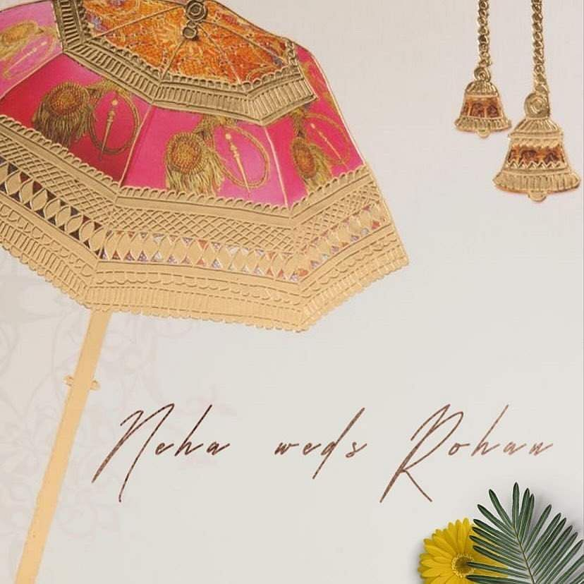 Neha Kakkar's and Rohanpreet Singh's Haldi 8