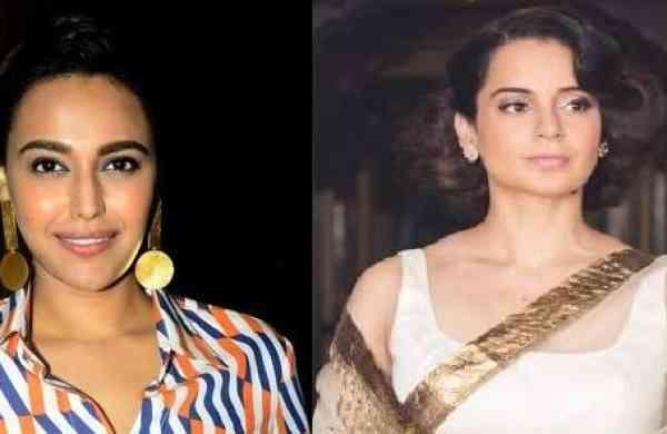 Swara Bhaskar and Kangana Ranaut