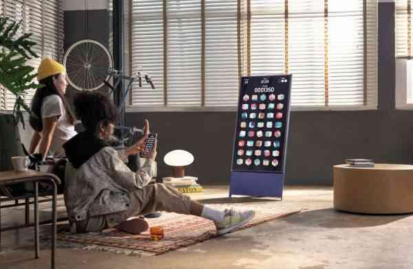 Samsung's Sero, the rotating TV