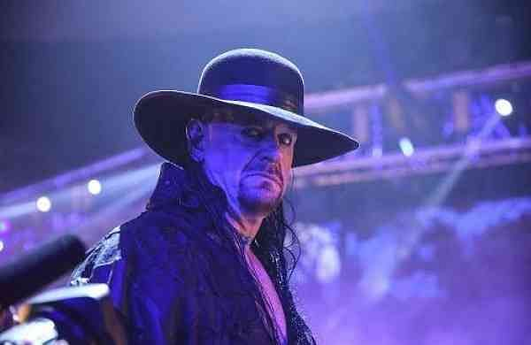 The Undertaker at the Final Farewell during the Survivor Series