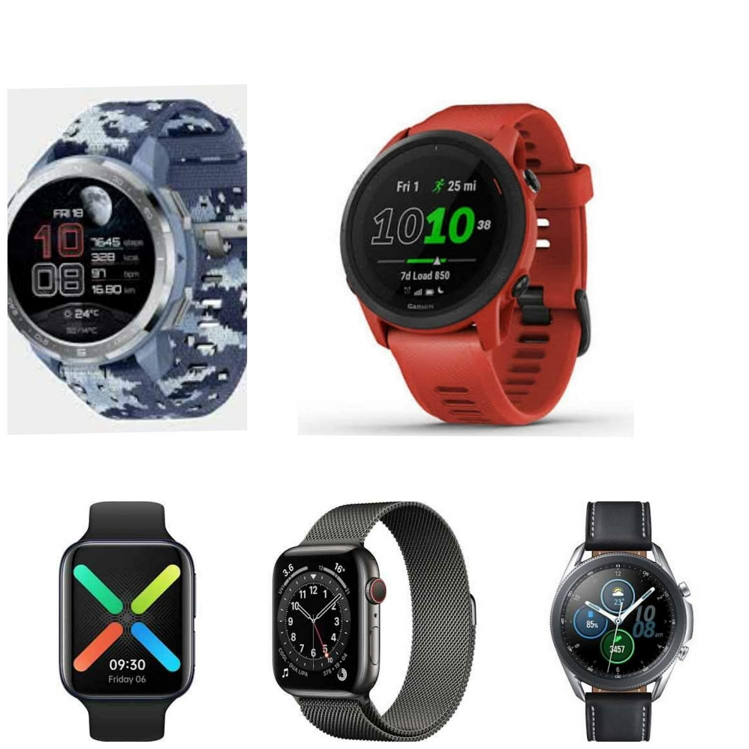 Top five smartwatches that were launched in 2020