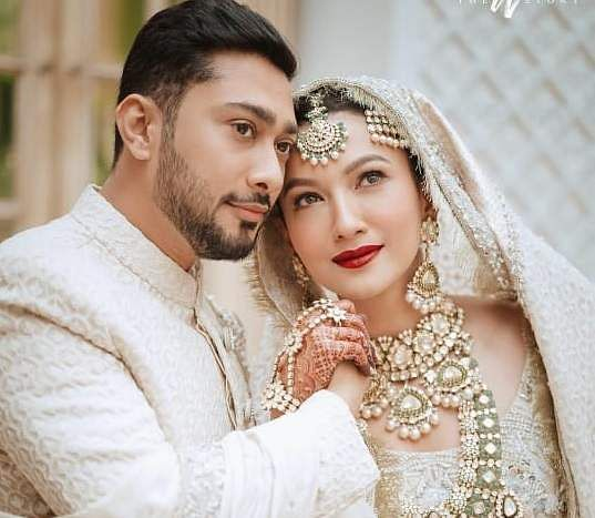 Actress Gauahar Khan and choreographer Zaid Darbar got married in Mumbai on December 25