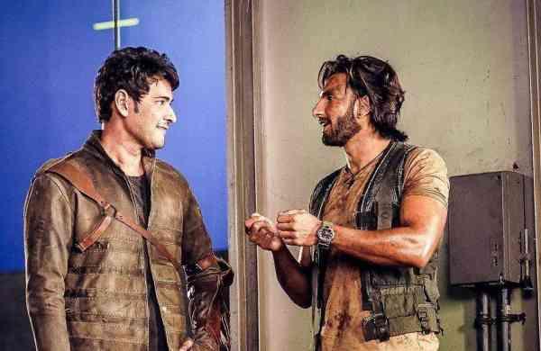 Ranveer Singh with Mahesh Babu