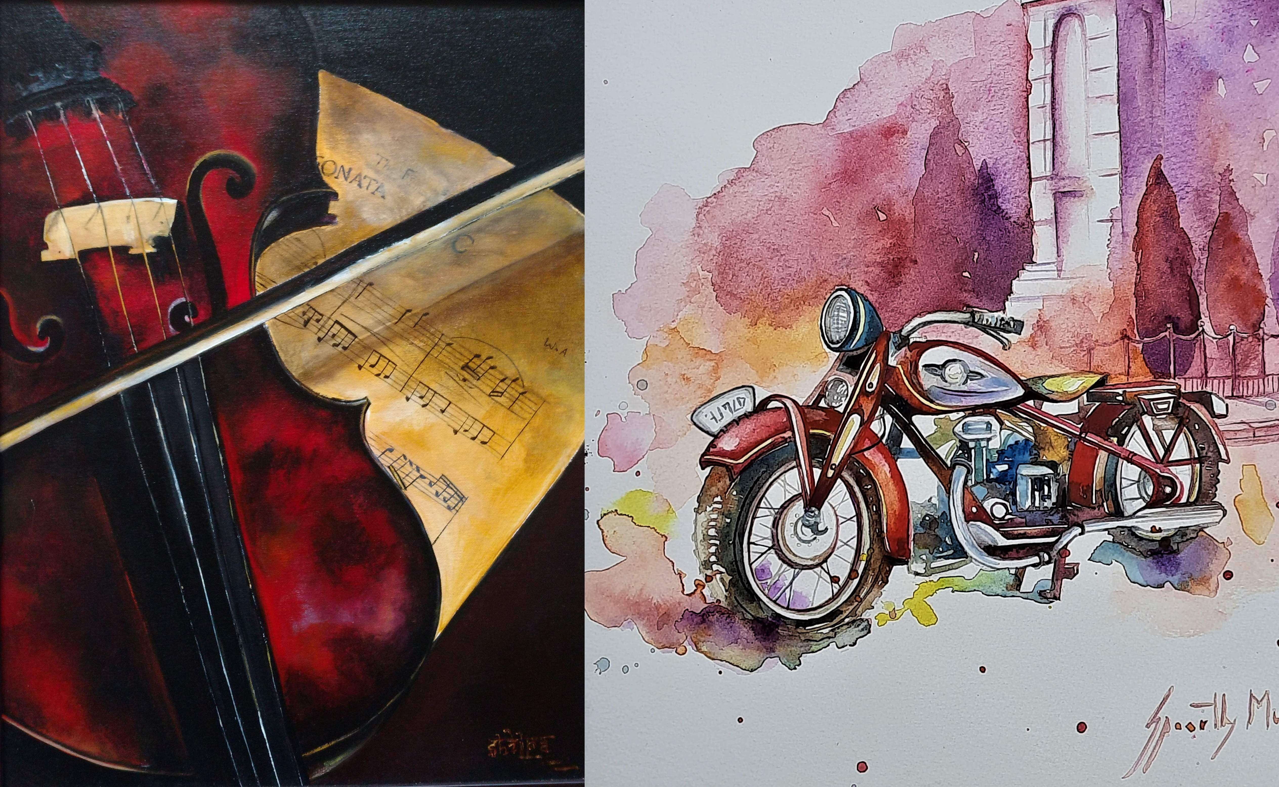 Paintings_by_Shilpa_and_Spoorthy