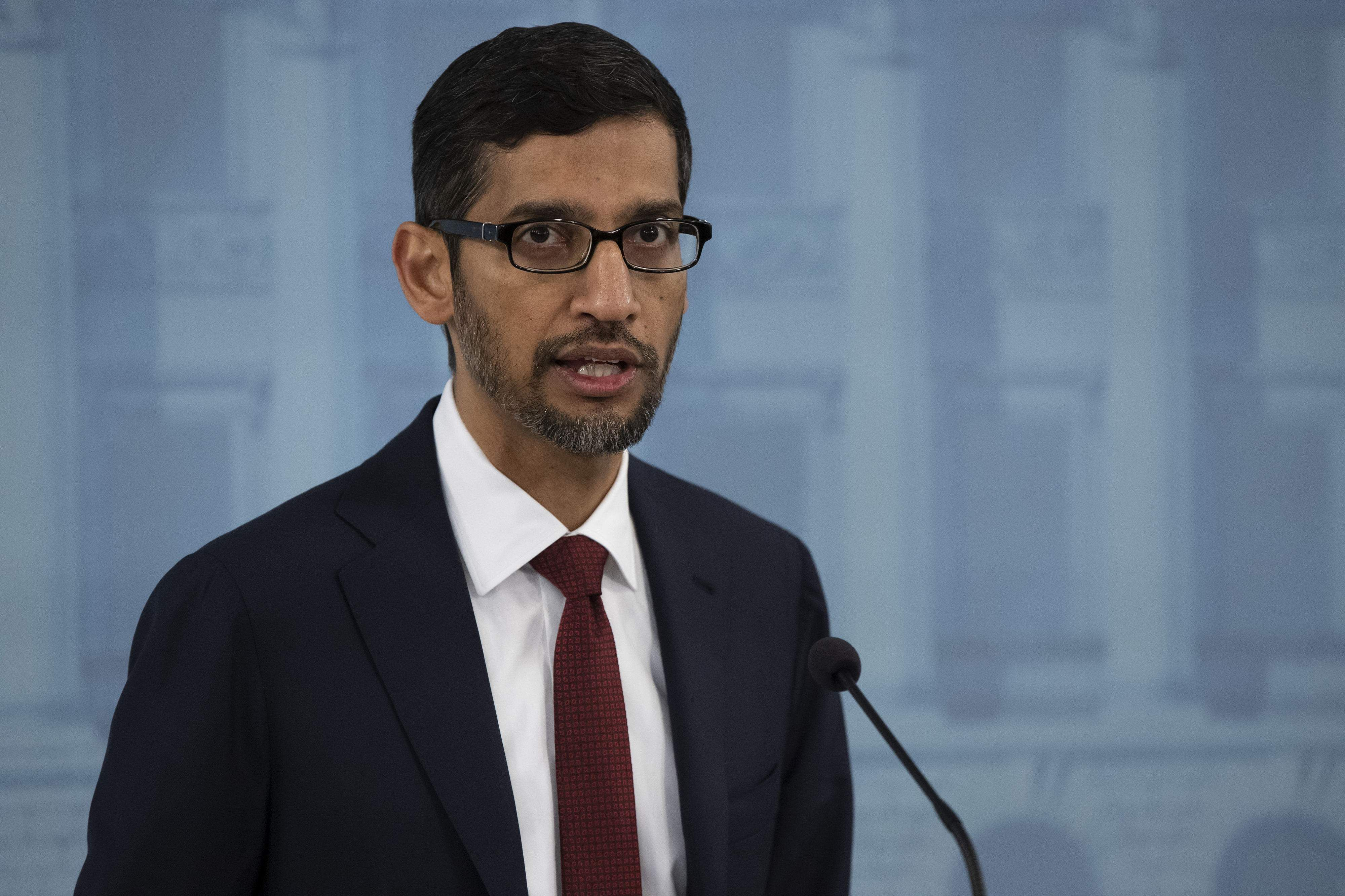 Sundar Pichai's words of wisdom for digital growth and expansion
