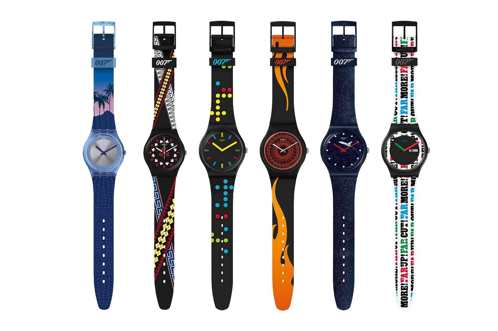 Swatch X 007: This limited edition collection of six watches references movies such as Moonraker, Licence to Kill and Casino Royale. One of them is for Q in No Time to Die. Coming soon. Price TBA.