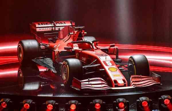 The new Ferrari F1 SF1000 (AFP Photo/Ferrari Press Office)