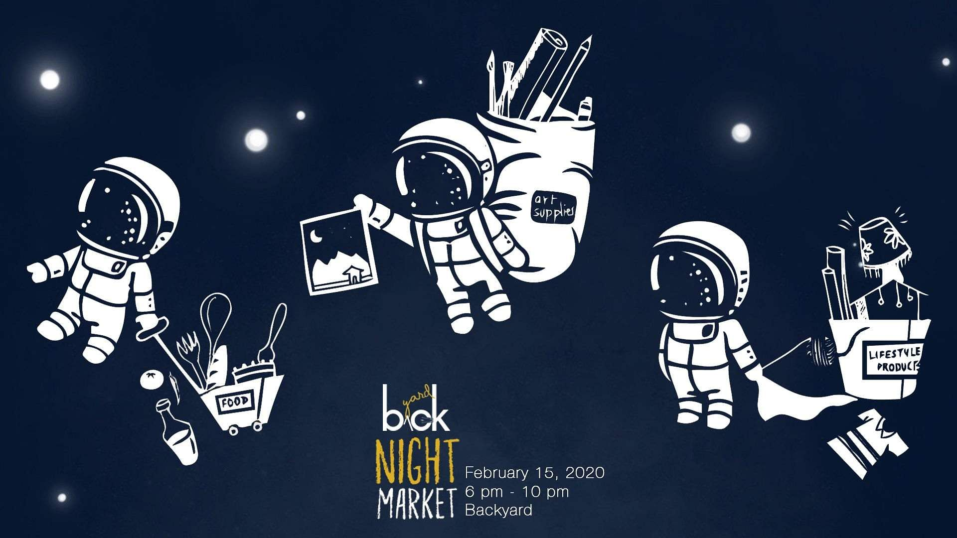 Night Market at Backyard