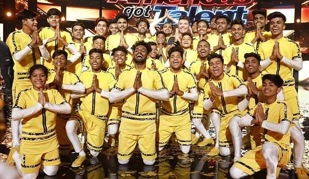 Watch: Dance group V Unbeatable performs to Rajinikanth's Marana Mass at America's Got Talent finale