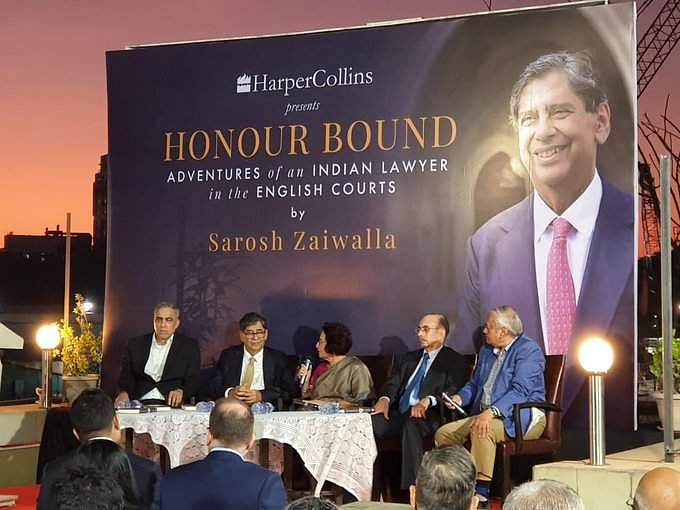 The launch of Honour Bound