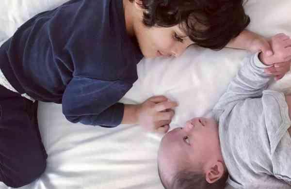 'Leo & Zack brothers': Lisa Haydon's sons (Photo: IANS)