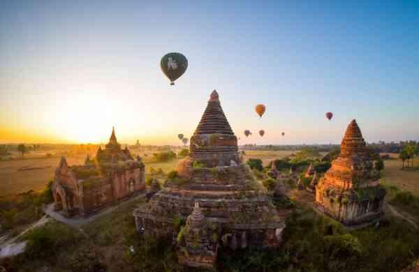 Myanmar's tourist hot-spot Bagan (Photo: IANS)