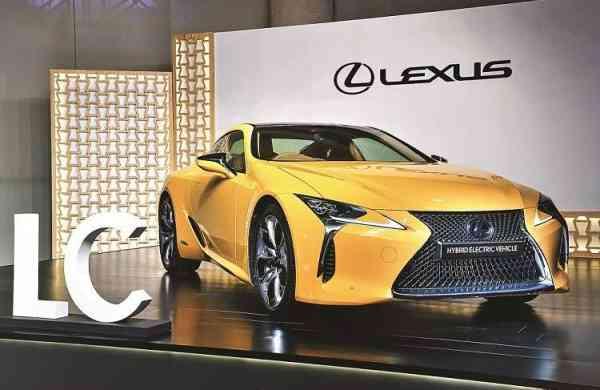Lexus Coupe LC500 h