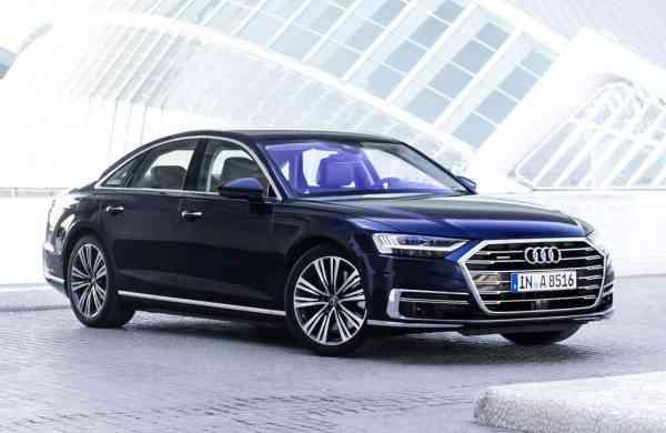 The new Audi A8L luxury sedan