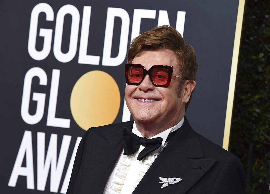 Elton John (Photo by Jordan Strauss/Invision/AP)
