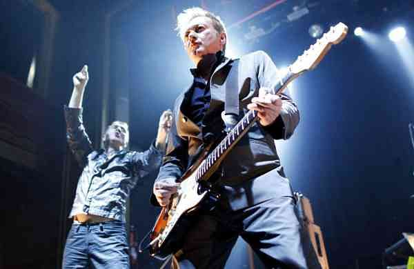 Gang of Four's Andy Gill and Jon King (AP Photo/Jason DeCrow)