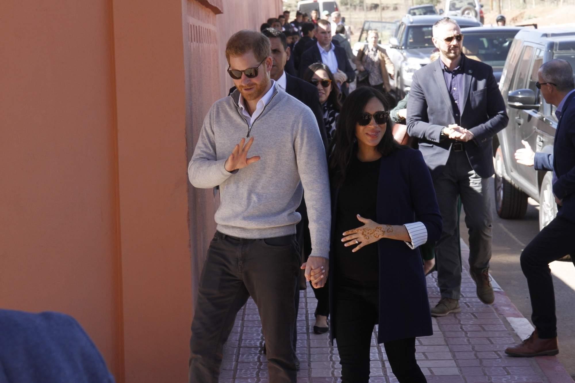 Prince Harry & Meghan Markle (Xinhua/IANS)