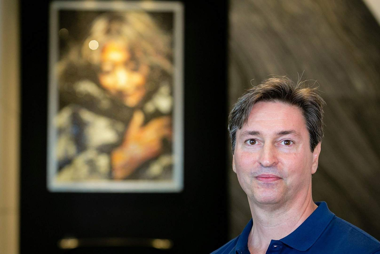 Chris Lepine, Zaha Hadid Architects' Project Director of One Thousand Museum. (AFP/Eva Marie Uzcategui)
