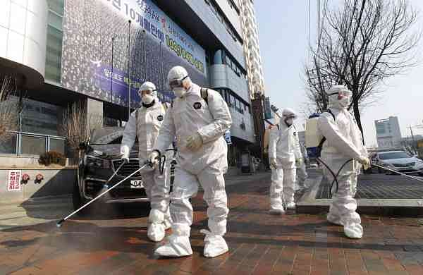 Global pandemic alert (Kim Jun-beom/Yonhap via AP, File)