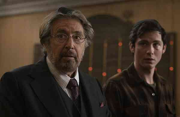 Al Pacino & Logan Lerman in Hunters