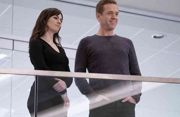 Damian Lewis and Maggie Siff