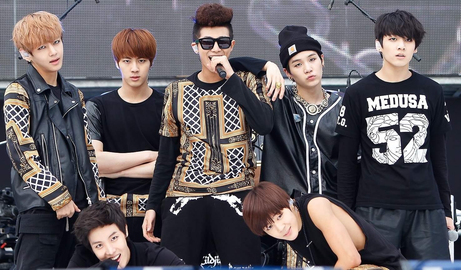 South Korean boy band BTS (Source: Internet)