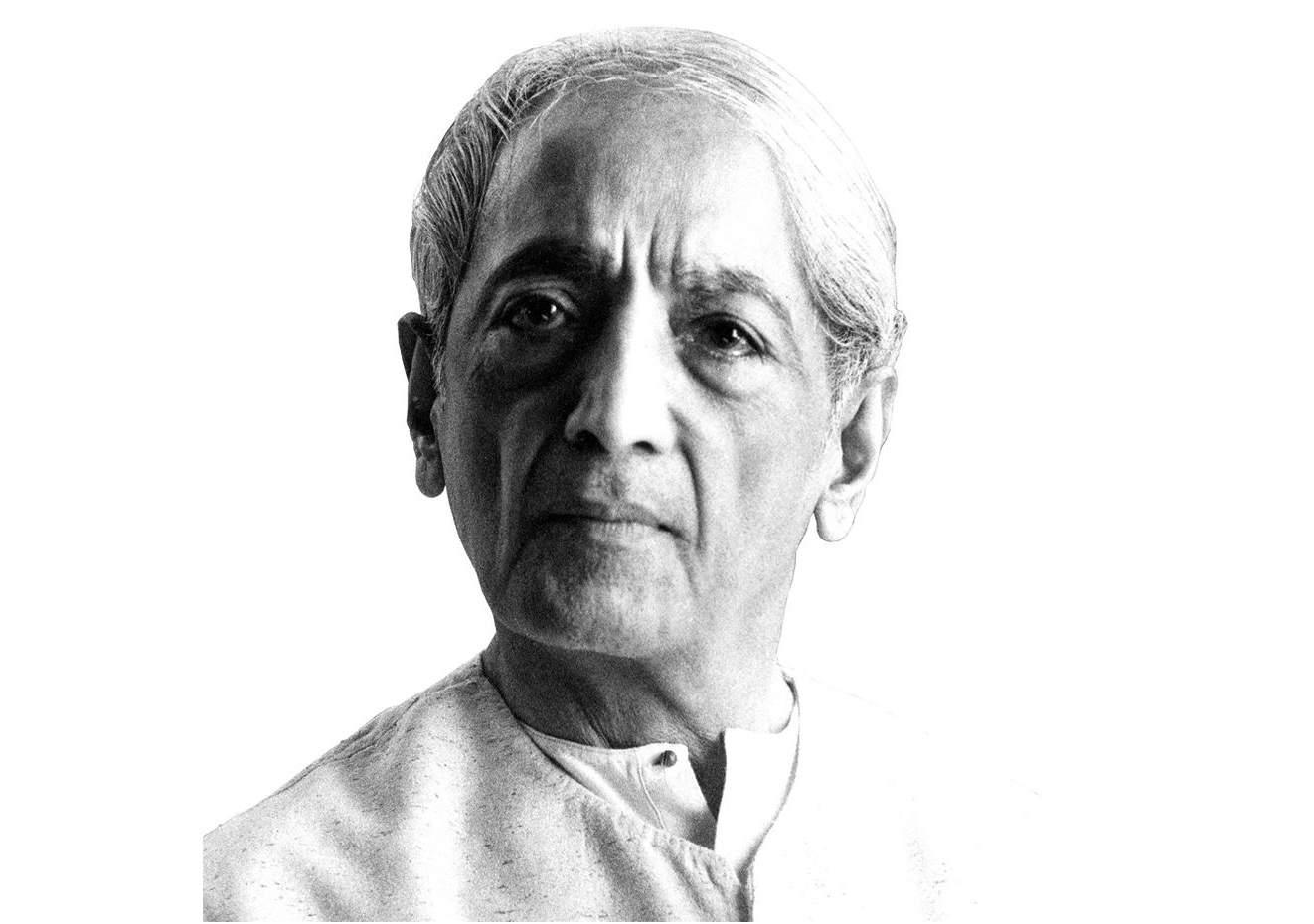 J Krishnamurti (1895-1986)