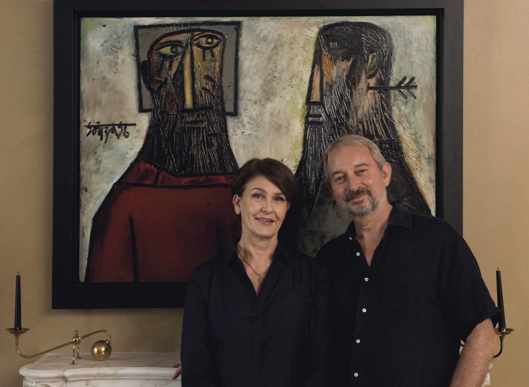 Jane and Kito de Boer (Photo: IANS)