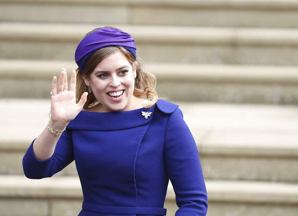 Princess Beatrice (Steve Parsons/Pool via AP)