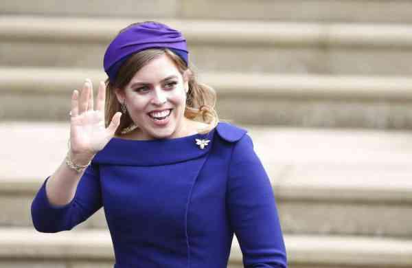 Princess Beatrice (Steve Parsons/Pool via AP)