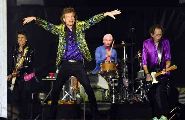 The Rolling Stones (Photo by Chris Pizzello/Invision/AP)