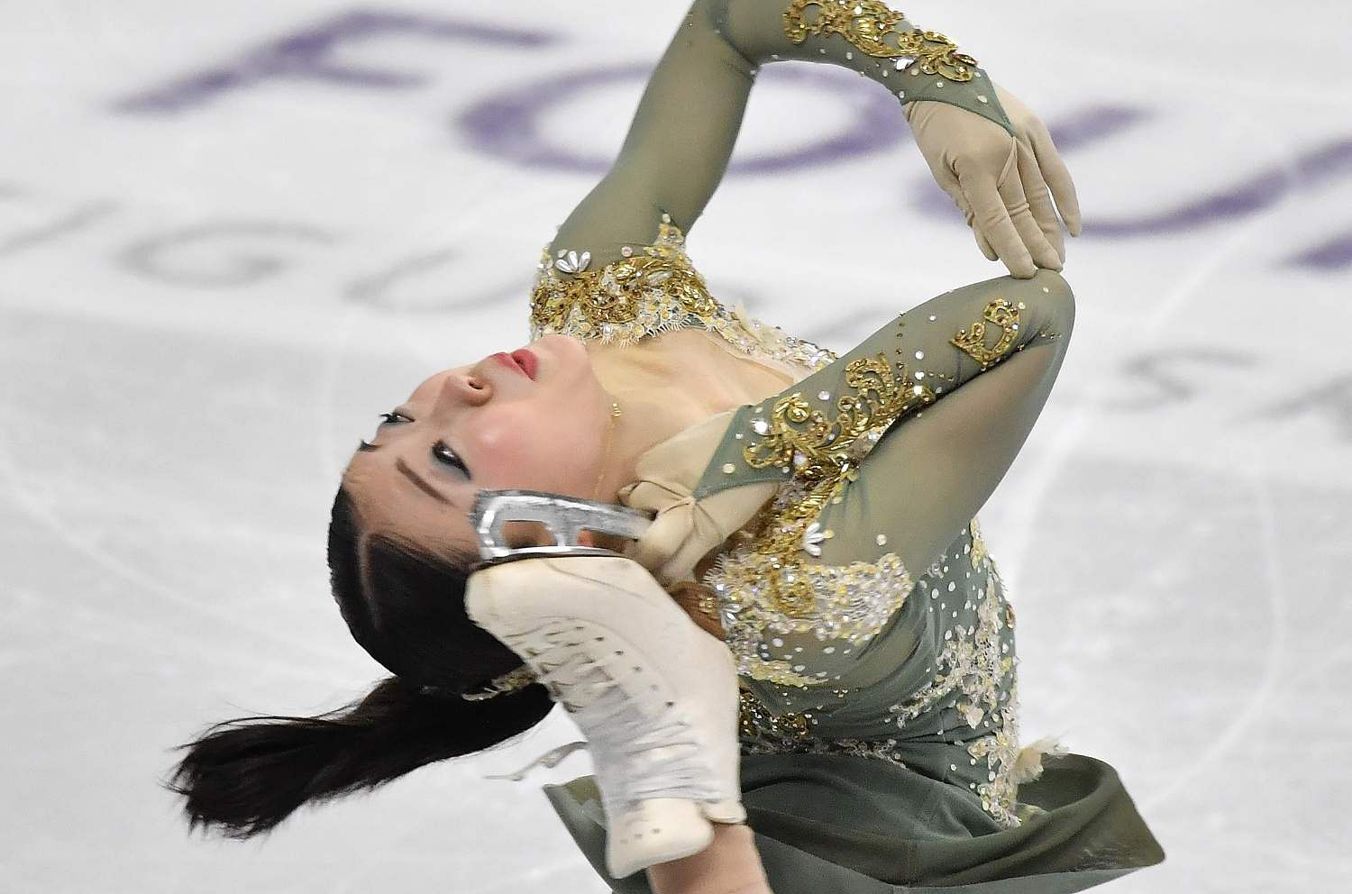 Seoul: Rika Kihira of Japan performs during the ladies free skating at the ISU Four Continents Figure Skating Championships in Seoul on February 8, 2020 / AFP / Jung Yeon-je.