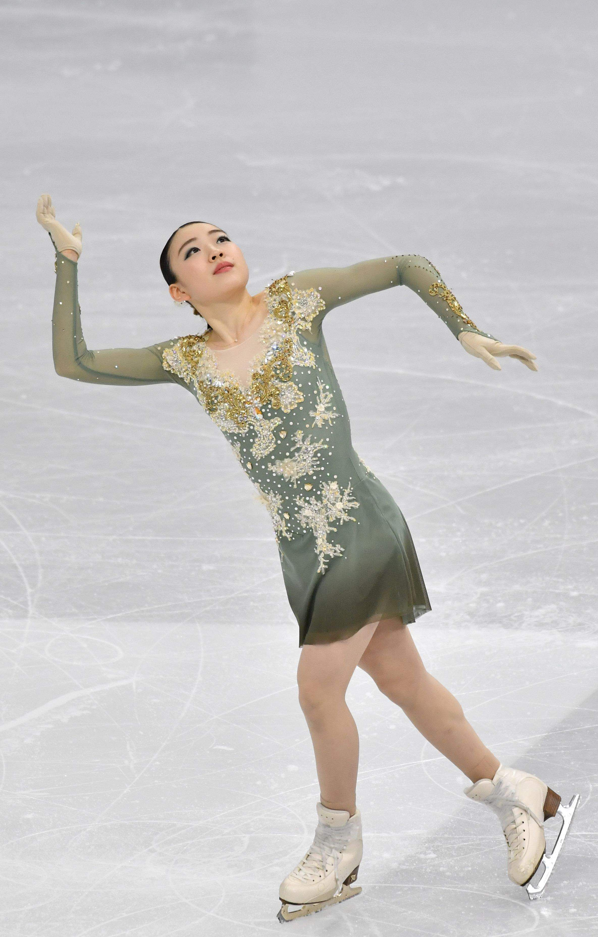 Seoul: Rika Kihira of Japan performs during the ladies free skating at the ISU Four Continents Figure Skating Championships in Seoul on February 8, 2020 / AFP / Jung Yeon-je