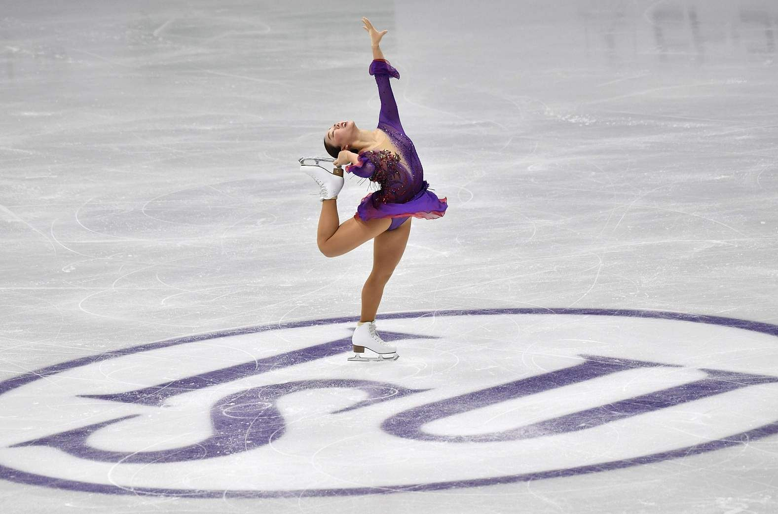 Seoul: Wakaba Higuchi of Japan performs during the ladies free skating at the ISU Four Continents Figure Skating Championships in Seoul on February 8, 2020 / AFP / Jung Yeon-je