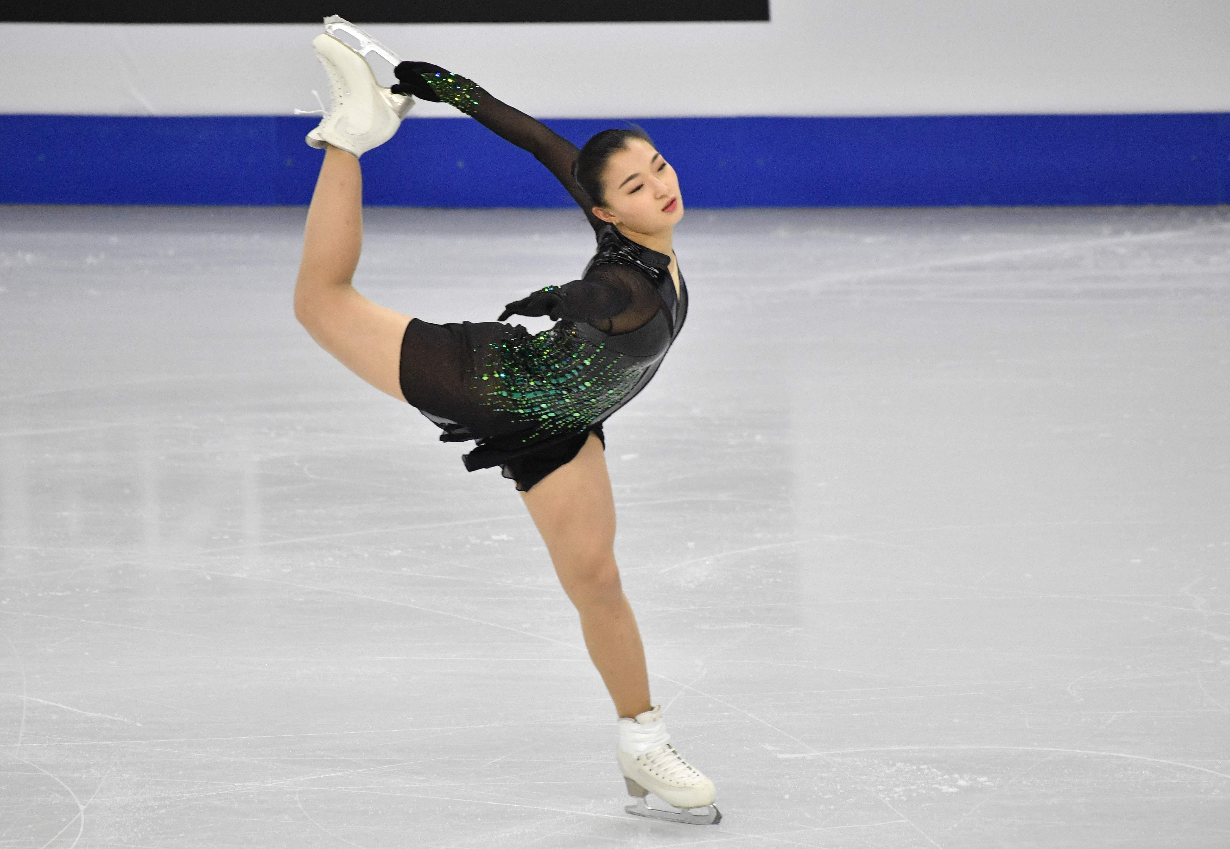 Seoul: Kaori Sakamoto of Japan performs during the ladies free skating at the ISU Four Continents Figure Skating Championships in Seoul on February 8, 2020 / AFP / Jung Yeon-je