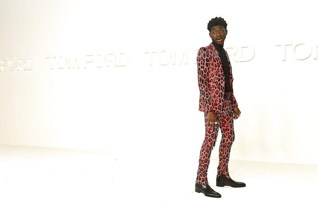 Lil Nas X attends the Tom Ford show at Milk Studios during NYFW Fall/Winter 2020 on Friday, Feb 7, 2020, in Los Angeles. (Photo by Jordan Strauss/Invision/AP)