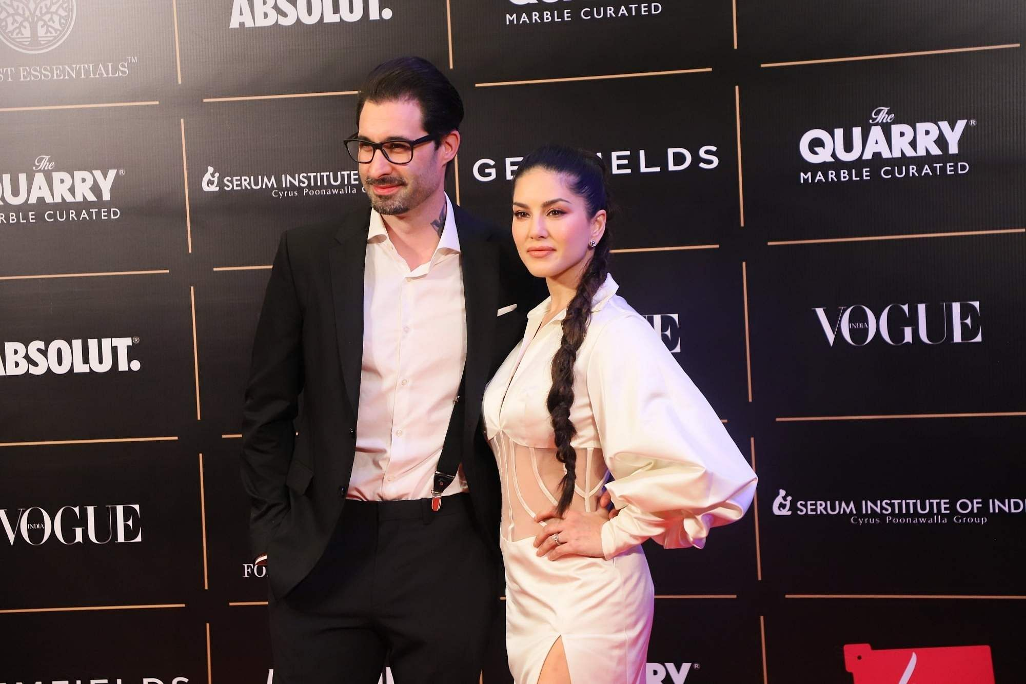 Sunny Leone and Daniel Weber (Photo: IANS)