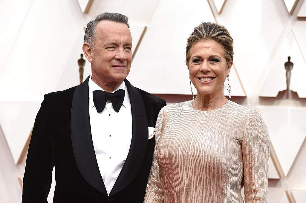 Tom Hanks and Rita Wilson (Photo by Jordan Strauss/Invision/AP/File)